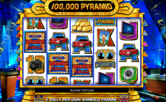 100.000 pyramid slotmachine