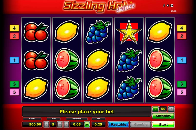 online casino william hill sizzling hot delux