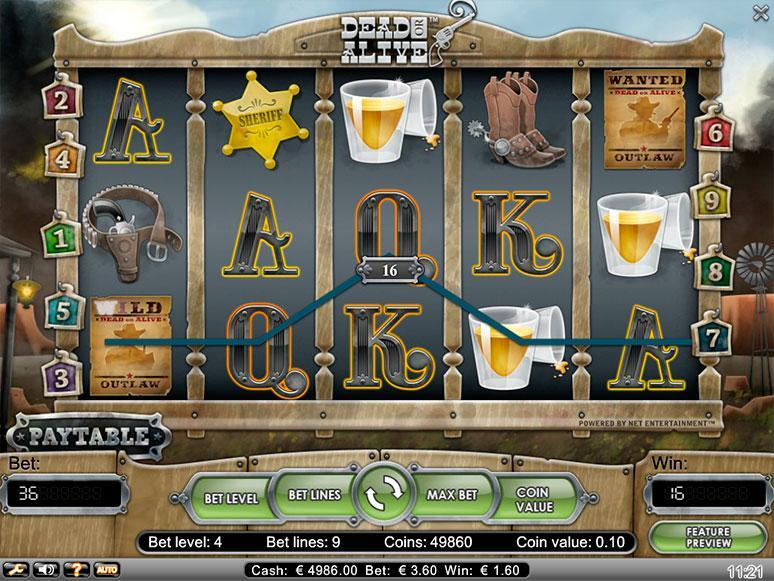 Dead or Alive-Spielautomat –kostenlos DOA von Netent spielen