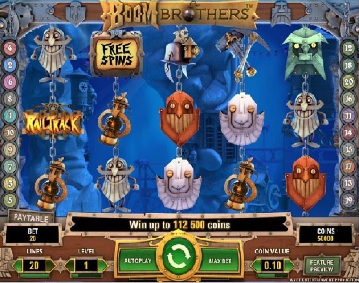 boom brothers spielautomaten kostenlos