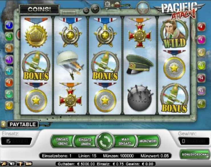 casino live online sizzling hot game