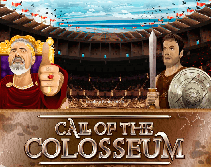 call of the collosseum slot machine