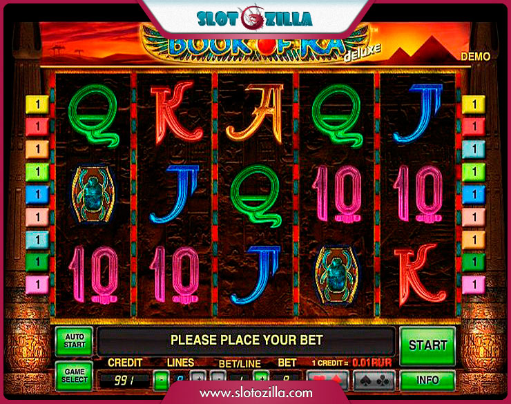 merkur casino online free slots book of ra