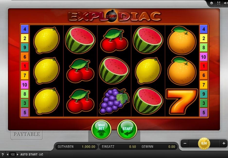 Spiele Explodiac - Red Hot Firepot - Video Slots Online