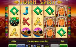 play free novoline slot indian spirit