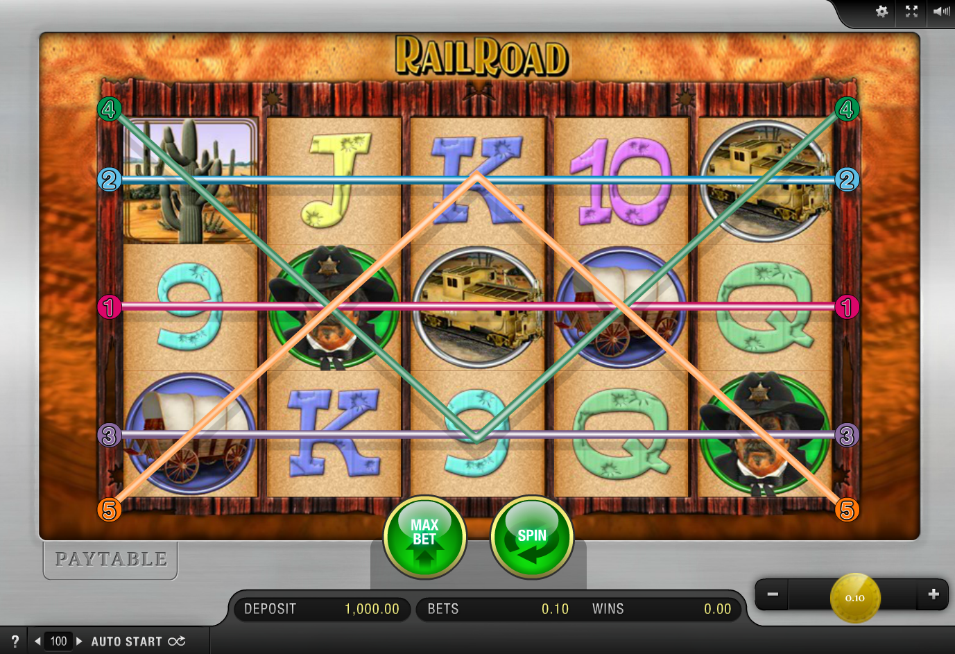 Railroad - Casumo Casino
