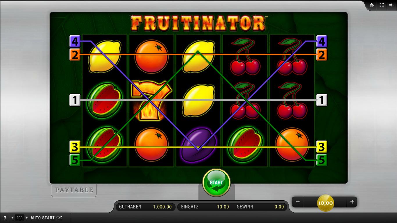 Fruitinator Kostenlos Spielen