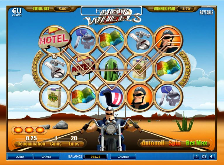 online spiele casino wheel book