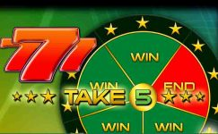 play free take 5 bally wulff slot game