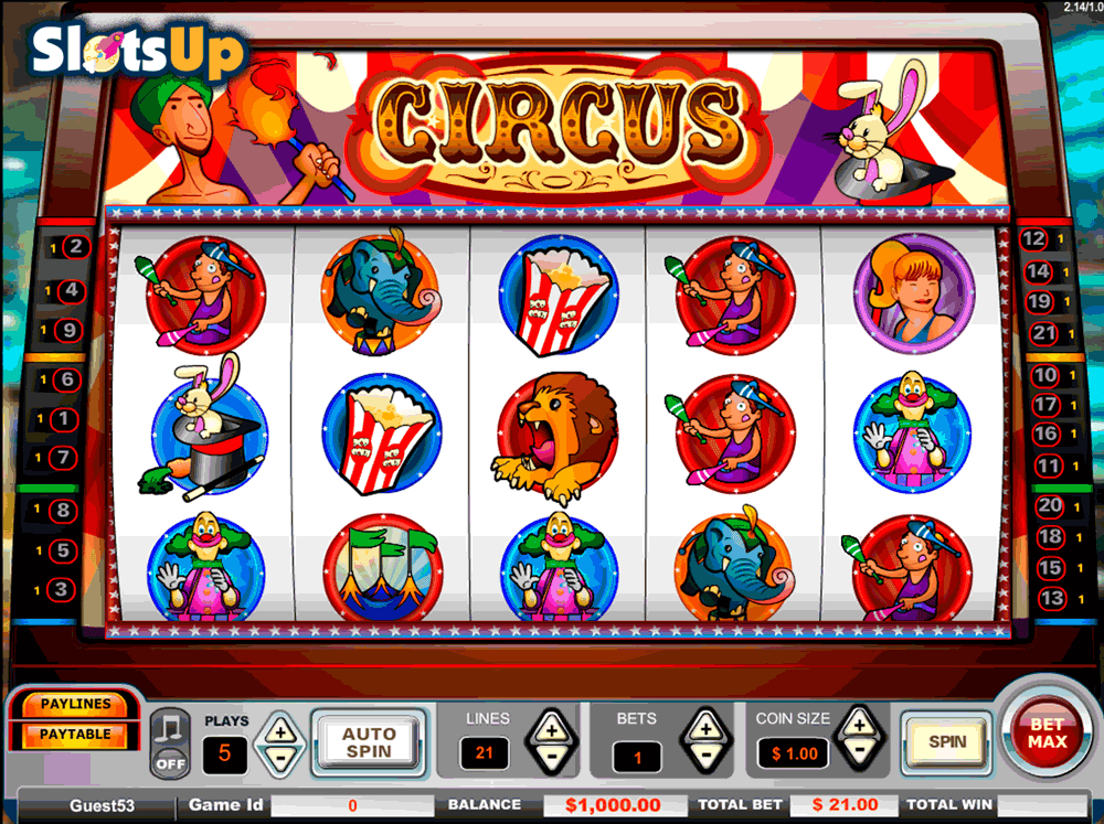 Spiele Crazy Circus - Video Slots Online