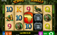 king of the jungle bally wulff online spielen