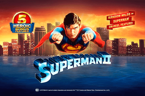 Spiele Superman II - Video Slots Online