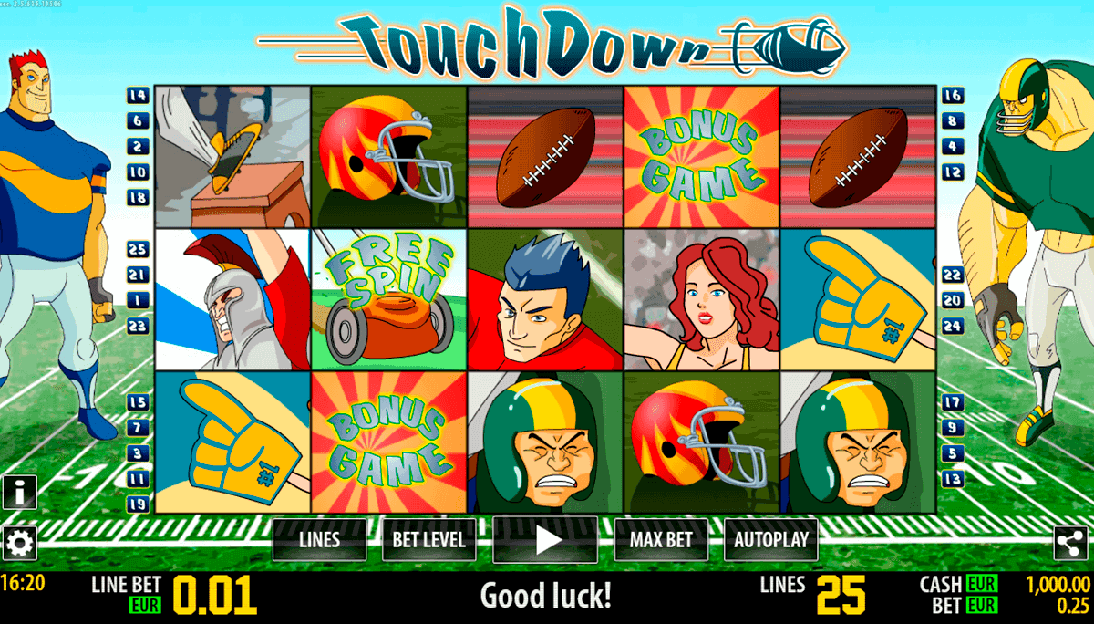 Spiele Touchdown Hottie - Video Slots Online