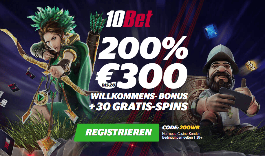 10Bet Casino Bonus