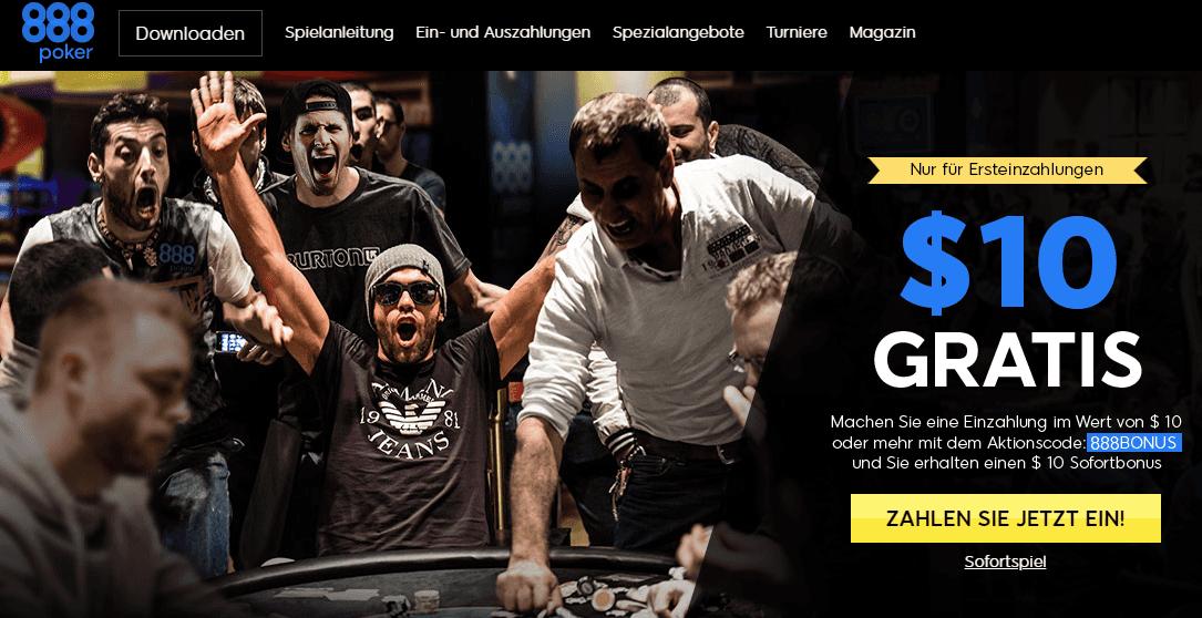 888 Poker ohne einzahlung Bonus