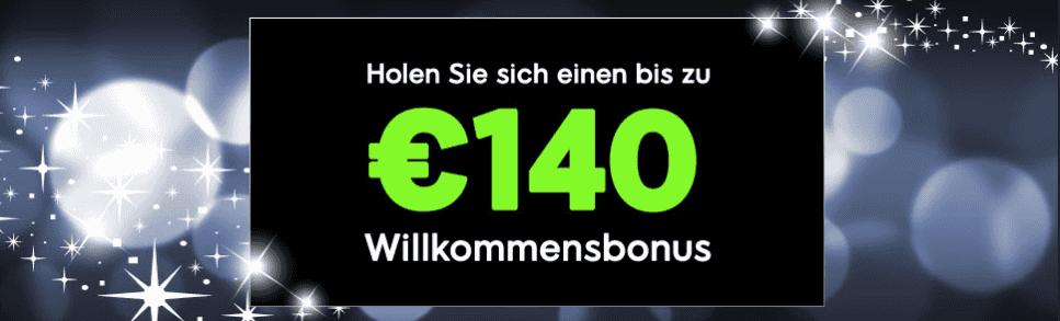 888 Casino Willkommensbonus   bis zu €140