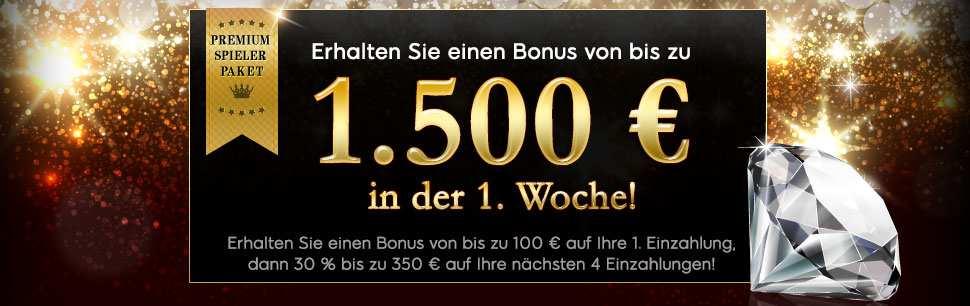 Premium Willkommenspaket von 888 Casino