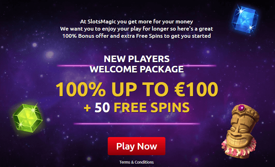 SlotsMagic Casino Willkommensbonus
