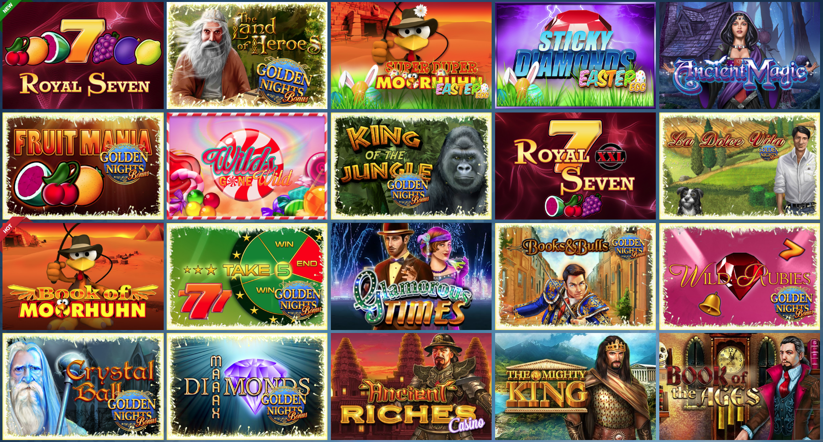 Sunmaker Casino Games