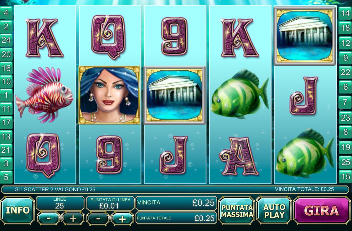 Atlantis Queen kostenlos spielen ohne Anmeldung