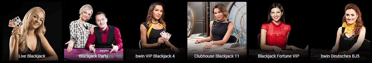 Bwin Live Blackjack