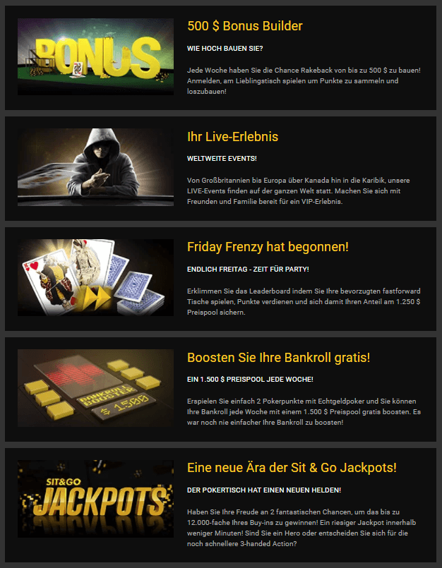 Bwin Poker Promotions
