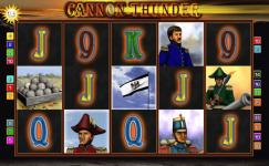 cannon thunder