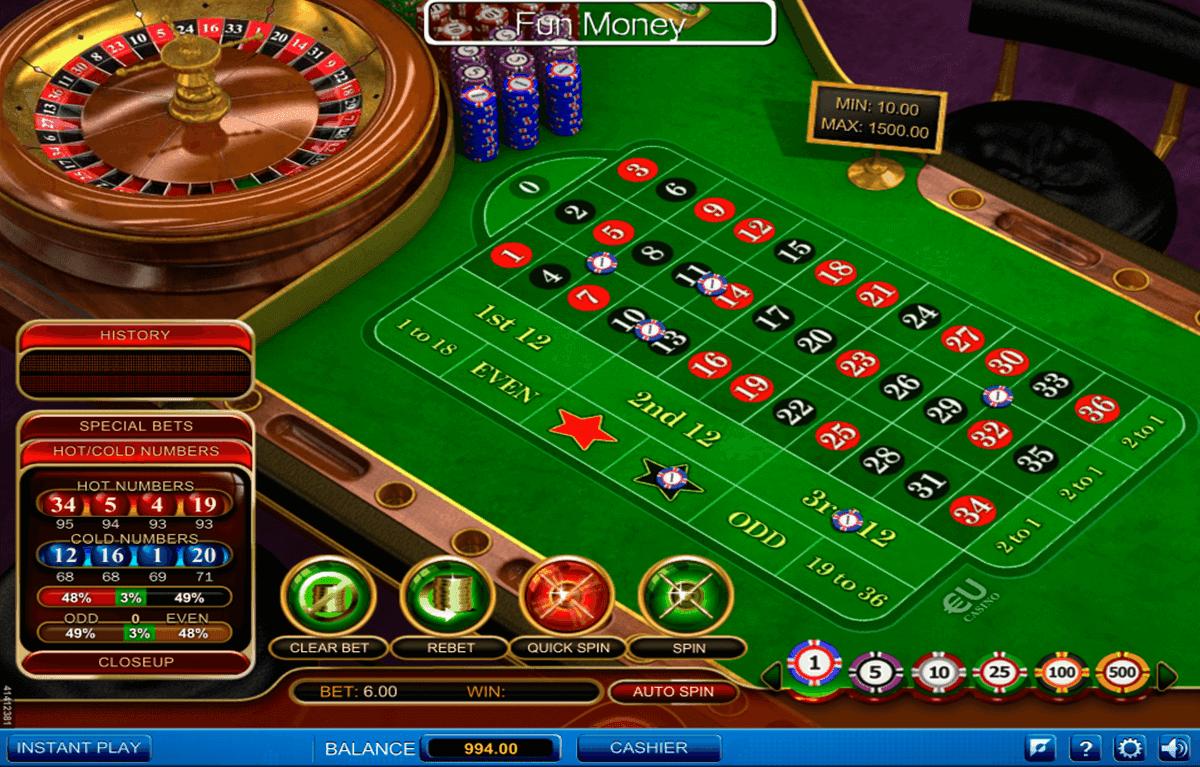 Roulette Spiele Kostenlos Ohne Anmeldung