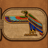 Eye of Horus kostenlos spiel Vogelgeier Symbol