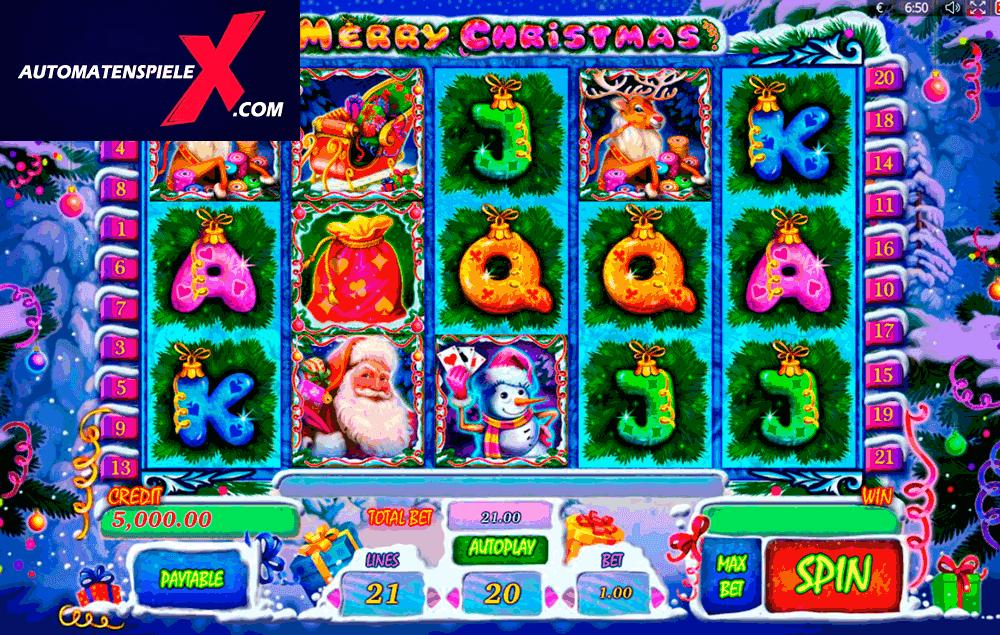 ▷ Merry Christmas kostenlos spielen ohne Anmeldung ▷ Automatenspiele X