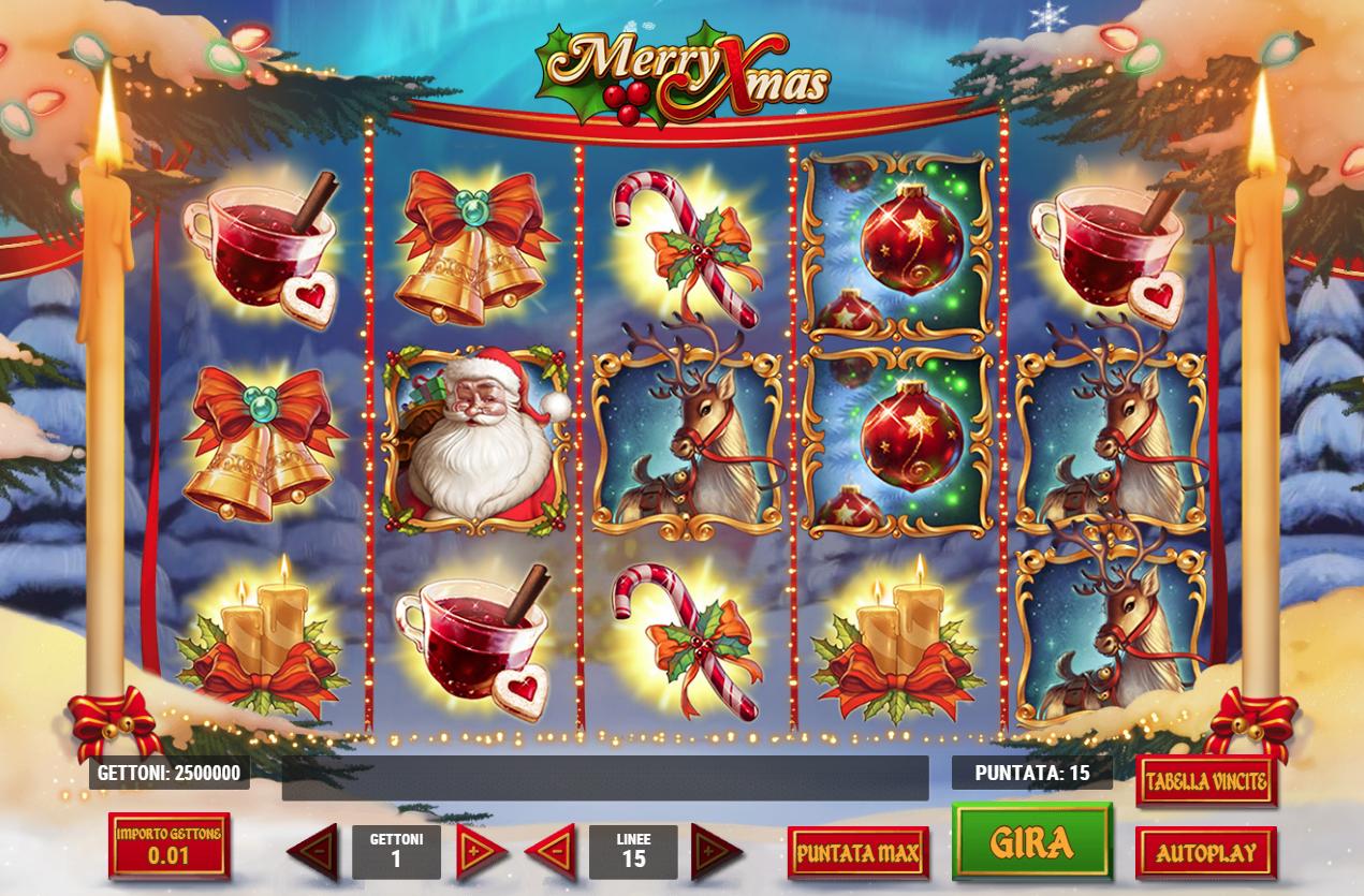 ▷ Merry Xmas kostenlos spielen ohne Anmeldung ▷ Automatenspiele X