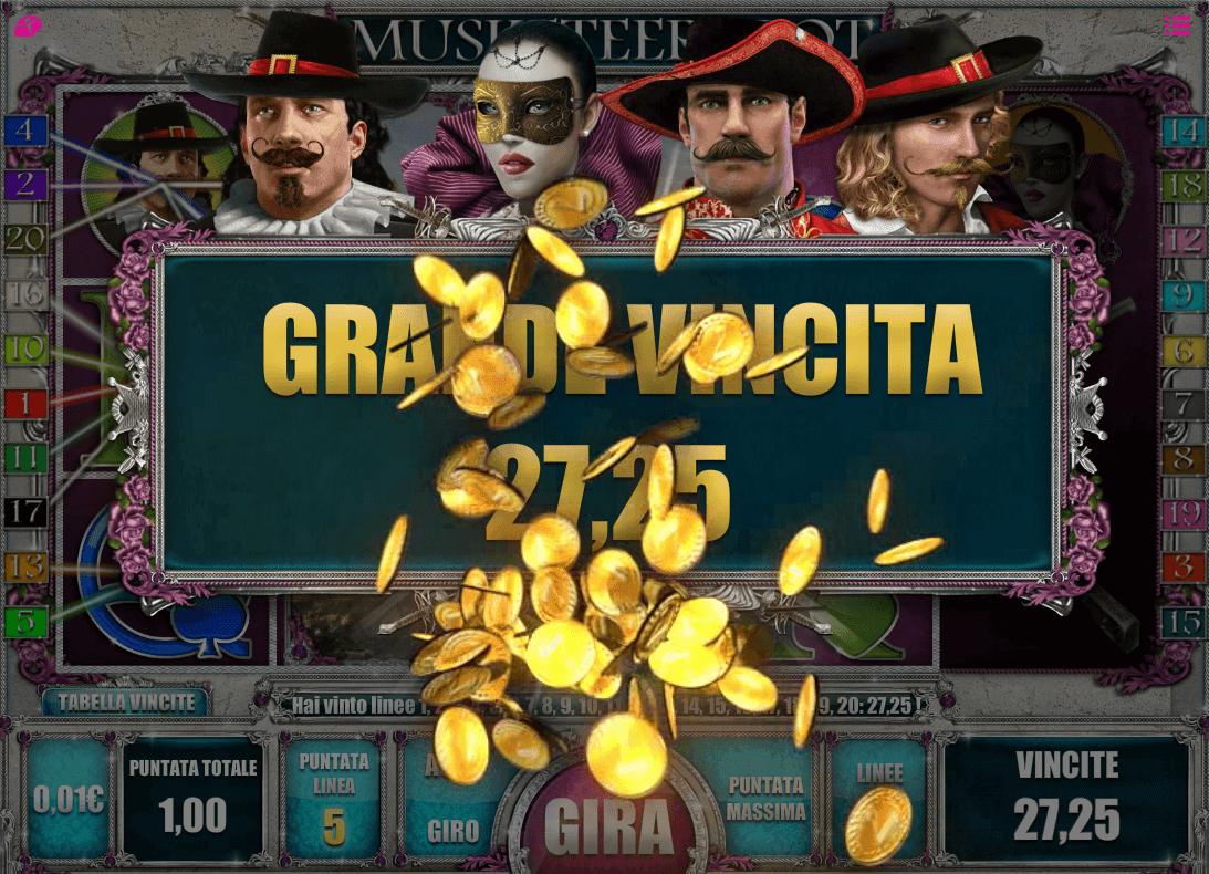 Musketeers kostenlos spielen ohne Anmeldung Automatenspiele X