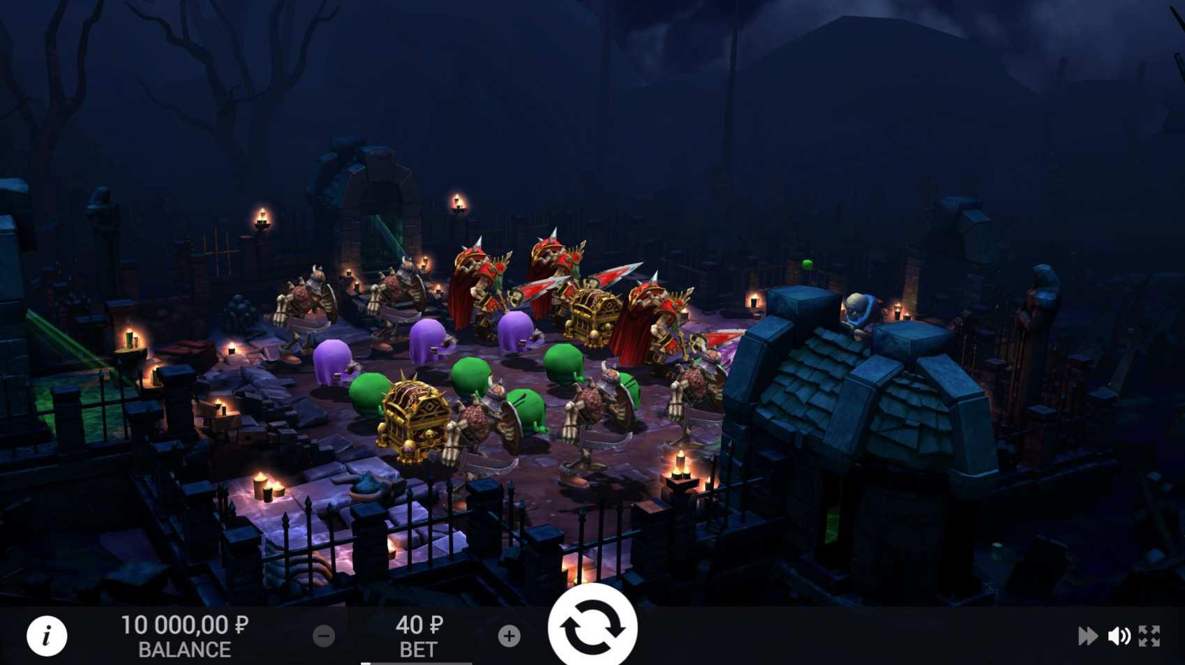 necromancer VR Spielautomat kostenlos spielen