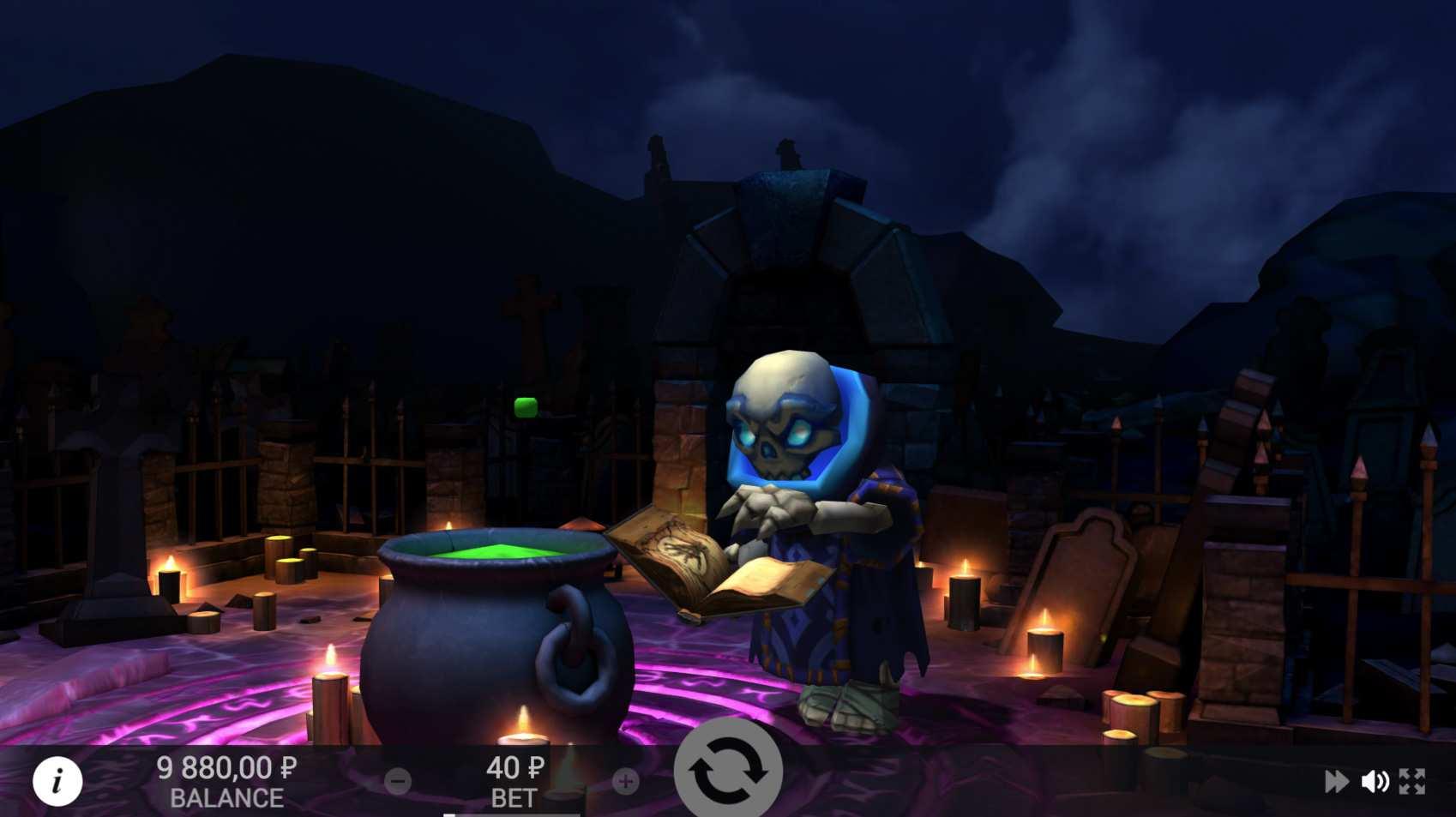necromancer VR Spielautomat von EvoPlay