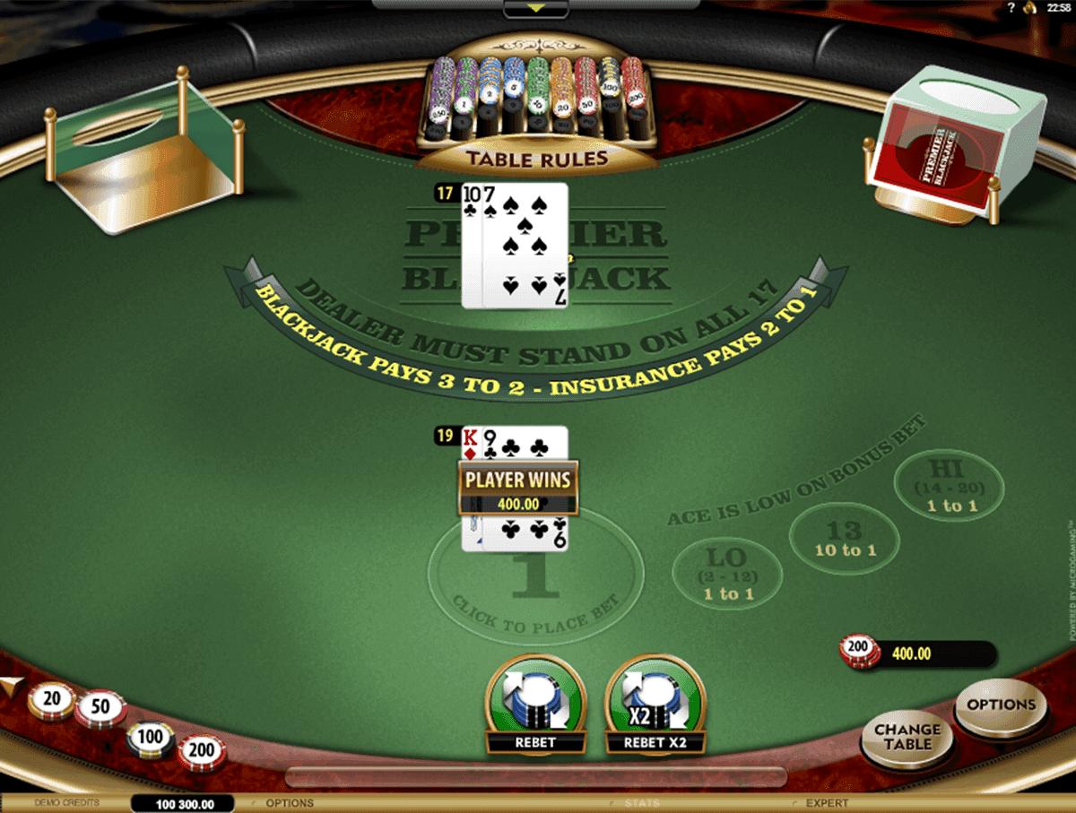 Premier Blackjack Hi Lo Gold