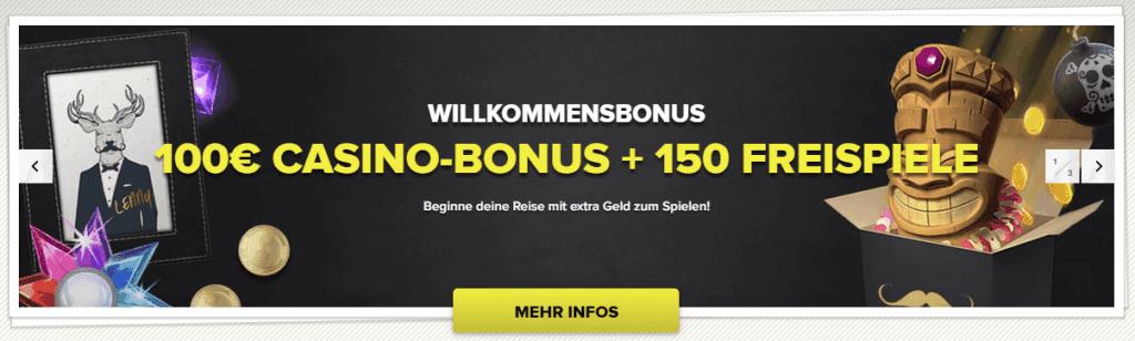 SuperLenny Casino Willkommenbonus