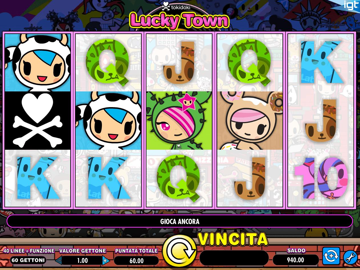 Tokidoki Lucky Town