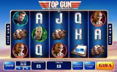 gratis top gun playtech automat