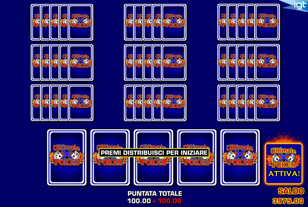 Ultimate X Poker Ten Play