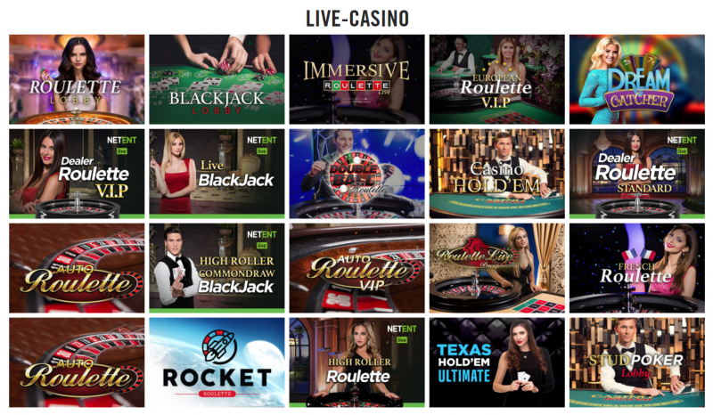 vegas hero live casino
