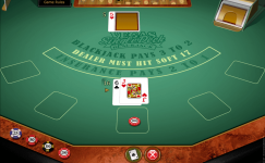 vegas single deck blackjack gold series