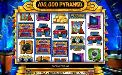 100.000 Pyramid slotmachine