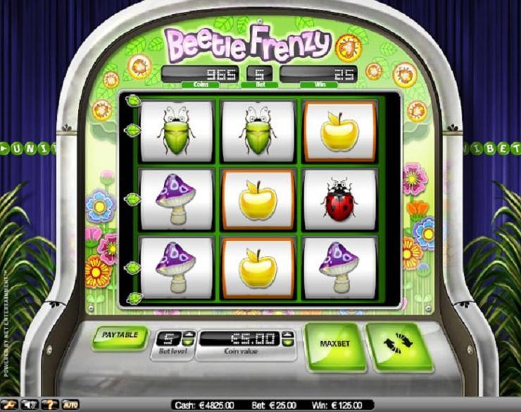 Beetle Frenzy spielautomaten kostenlos