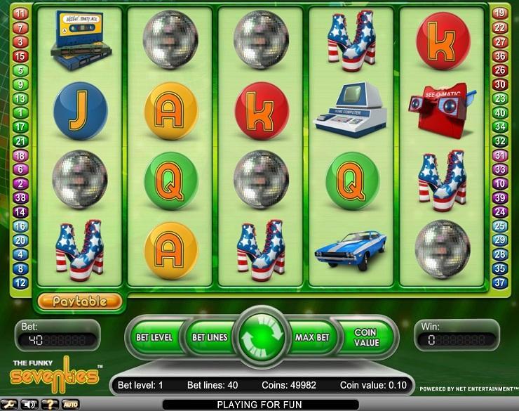 Funky Seventies spielautomaten kostenlos