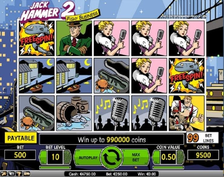 Jack Hammer 2 spielautomaten kostenlos