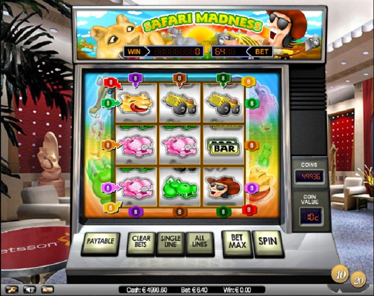 Safari Madness spielautomaten kostenlos