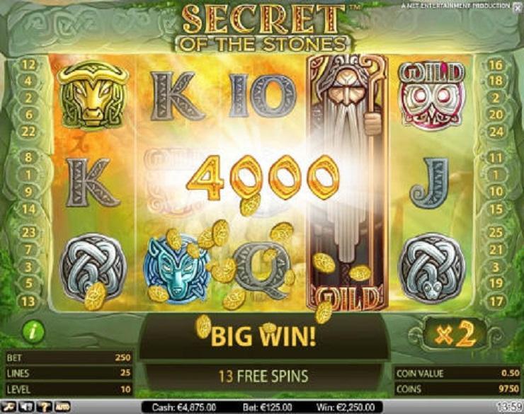 Secret of the Stones spielautomaten kostenlos