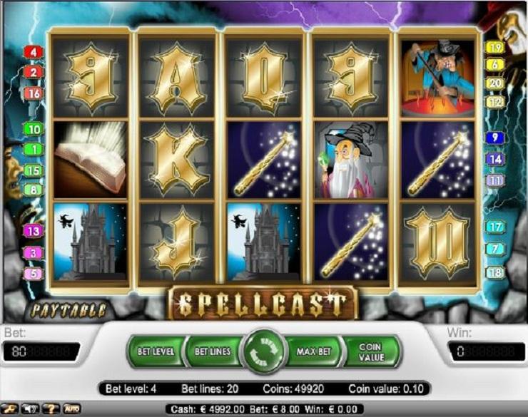 Spellcast spielautomaten kostenlos