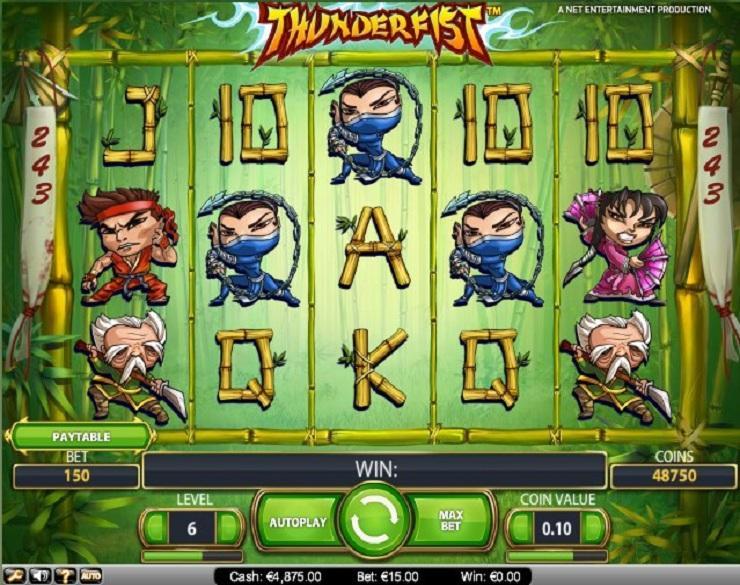 Thunderfist spielautomaten kostenlos
