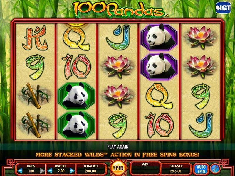 100 pandas automatenspiele